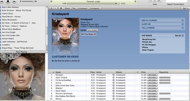 KD on iTunes